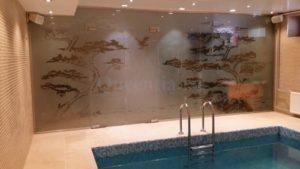 Перегородка в бассейне