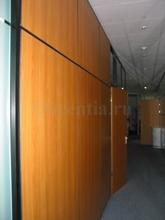 Ламинированные панели на перегородках