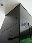 Остекление черным стеклом